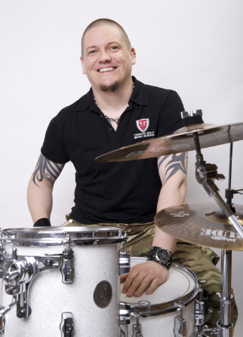 Dave Hazelwood Teaches at UK Drum Show