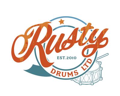 Rusty Drums Logo
