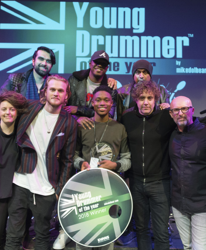 JJ Wallace, Young Drummer of the Year 2018