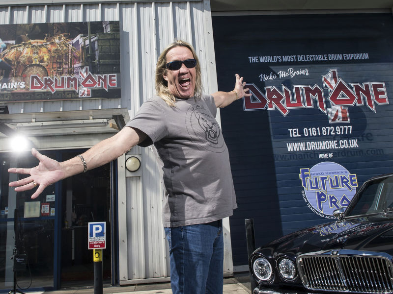 Nicko McBrain - Iron Maiden - The UK Drum Show