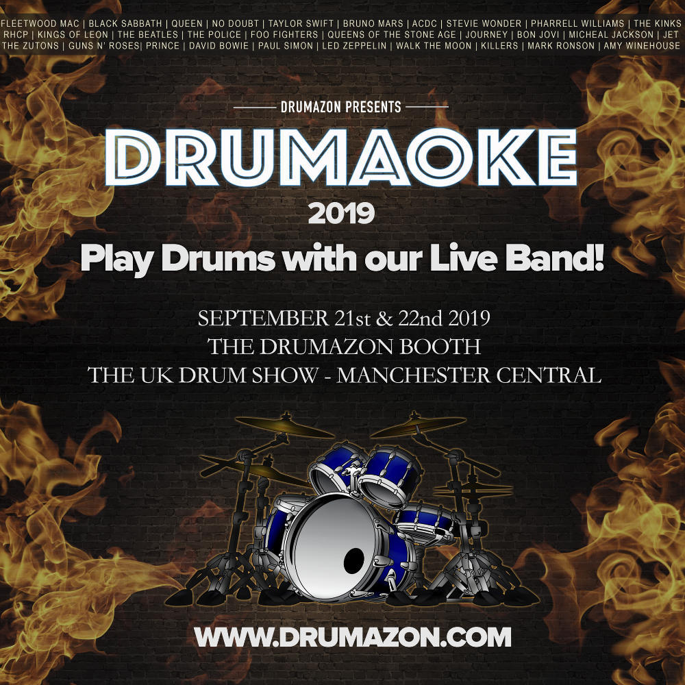 Drumaoke at The UK Drum Show