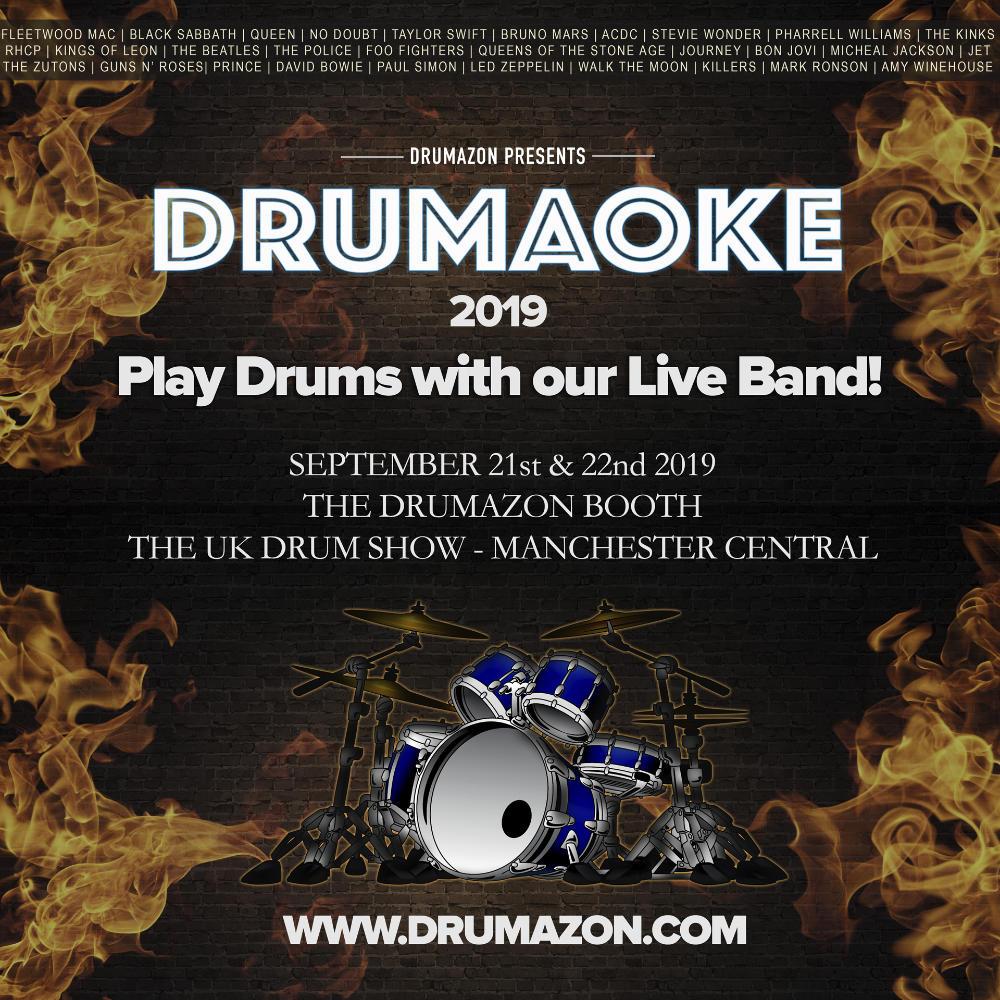 Drumaoke at The UK Drum Show