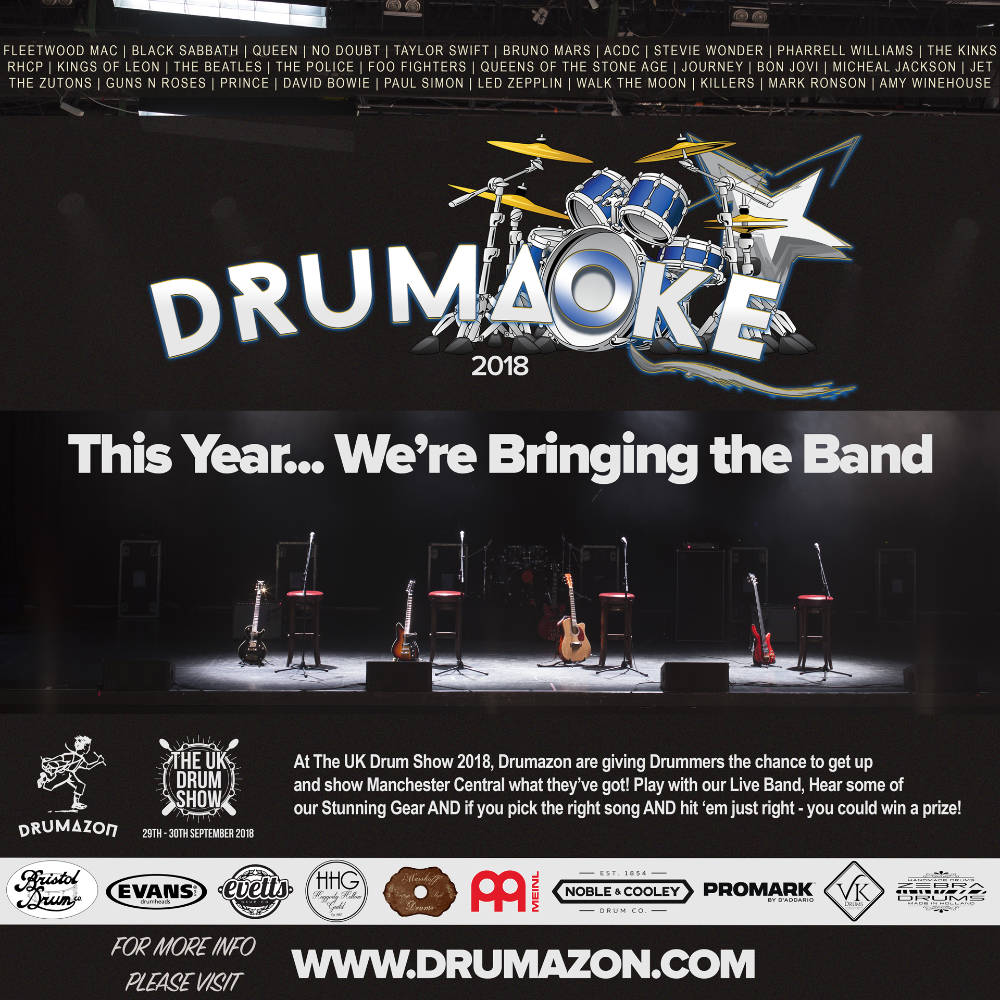 Drumaoke - This time we're brining the band.